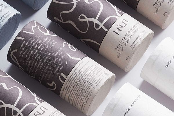 Free from Deodorant Branding and Packaging for All Humans / World Brand & Packaging Design Society
