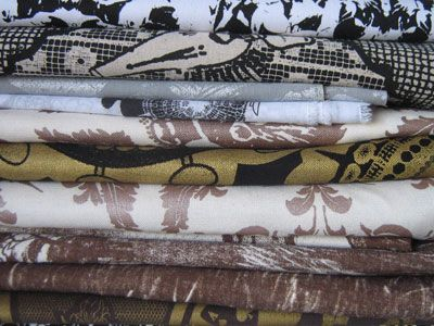 Beautiful handmade fabrics from South Africa