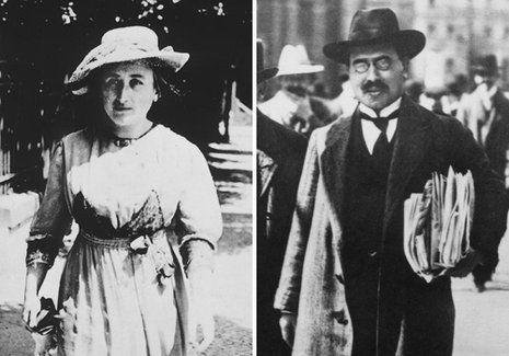 Karl Liebknecht und Rosa Luxemburg
