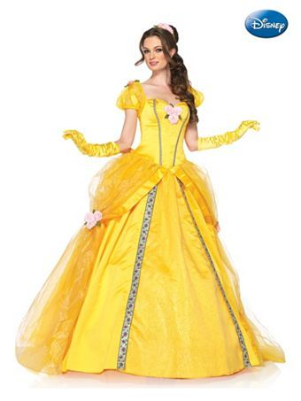 Women's Deluxe Beauty and the Beast's Princess Belle Ball Gown Disney Costume | Wholesale Deluxe Beauty and the Beast's Princess Belle Ball ...
