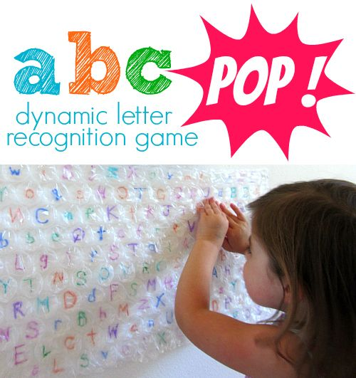 This #RaiseaReader blog shares a game that combines bubble wrap and letter recognition for a popping-good time. Click for details.