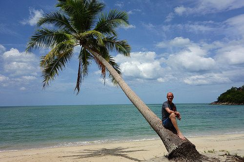 In Khanom, south of Thailand. Forget the tourist islands and spend time in Khanom!