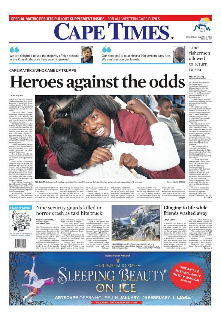 News making headlines: Heroes against the odds