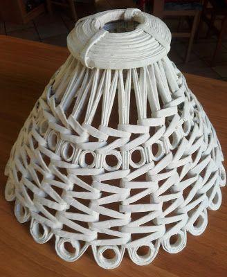 Centomilaidee: Lampada da soffitto con le cannucce shabby