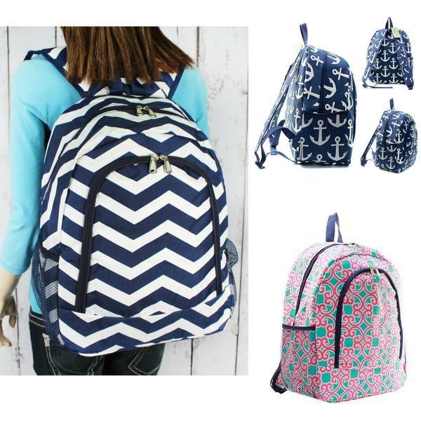 "17"" Full Size Backpack Bookbag School Tote Bag - Gifts Happen Here"