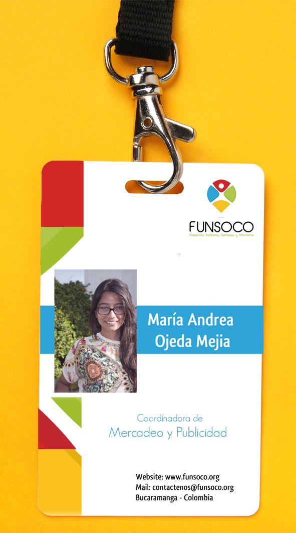 Diseño de carnet  FUNSOCO