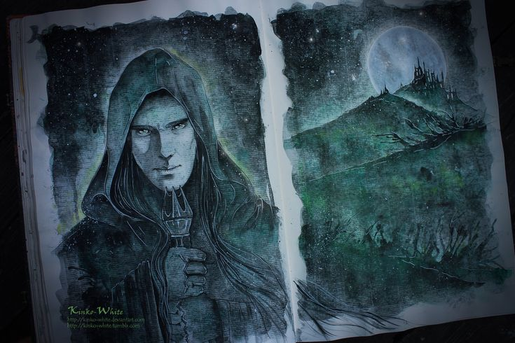 The Necromancer of Dol Guldur by Kinko-White.deviantart.com on @deviantART