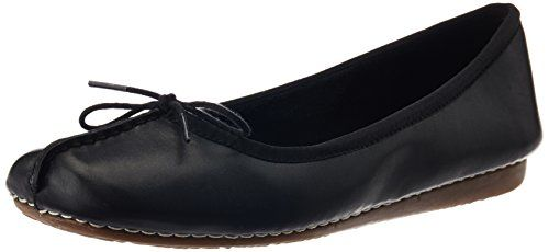 Clarks Freckle Ice, Damen Mokassin, Schwarz (Black Leather), 35.5 EU (3 Damen UK) - http://on-line-kaufen.de/clarks/35-5-eu-clarks-freckle-ice-damen-geschlossene-8