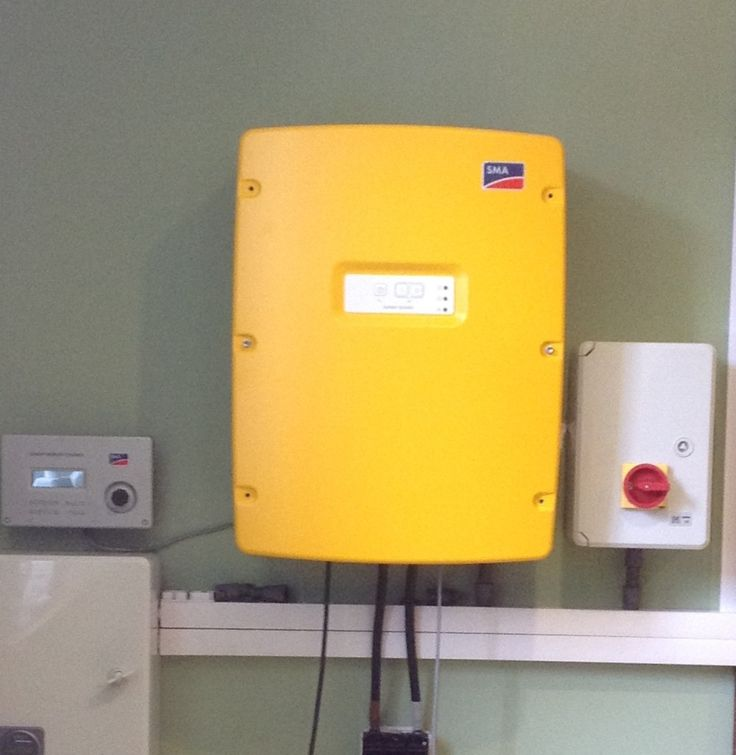 3.3kW Sunny Island Inverter/Charger at our showroom in North Wales