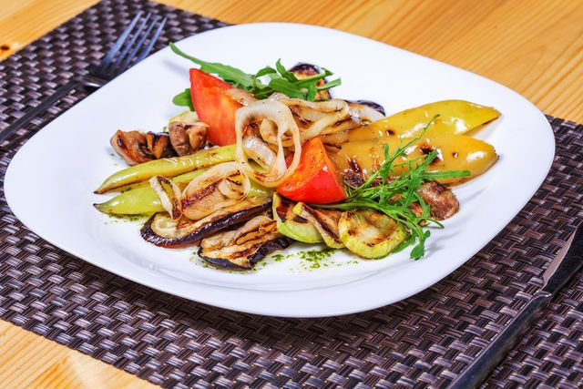 Ароматные овощи гриль