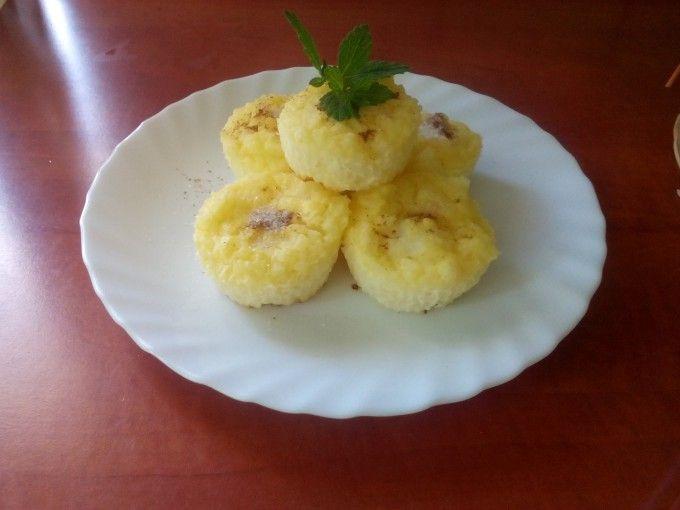 Rýžové muffiny s tvarohem   NejRecept.cz
