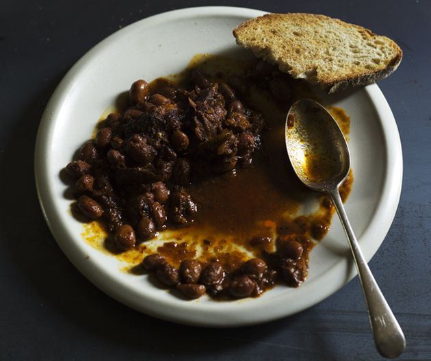 Baked beans from Rodney Dunn's The Agrarian Kitchen. Photograph © Luke Burgess.
