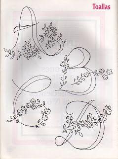 Alfabetos para Bordar...A B C D /ticlane/04-printables/     get back (via  Deise Amorim. Artes,  Desenhos para Colorir)