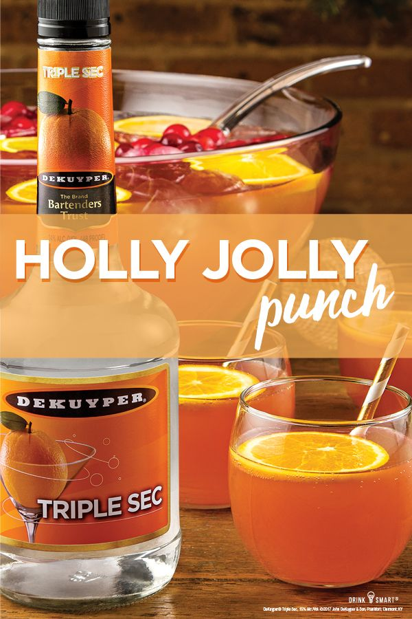 Holly jolly punch drink