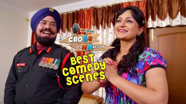 Best Punjabi Comedy Scenes | B N Sharma | Cross Connection  New Punjabi Movie | Funny Clips 2015