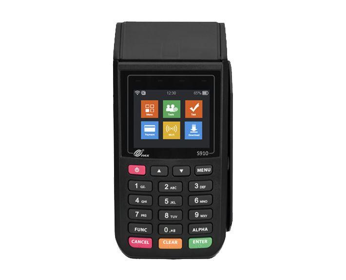 کارتخوان سیار پکس S910 ریفر 99 درصد Pax Electronic Products Phone