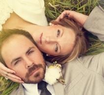 Hermosa foto de boda