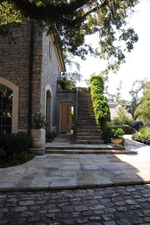 Traditional Stairs Exterior Design Ideas, Pictures, Remodel And Decor