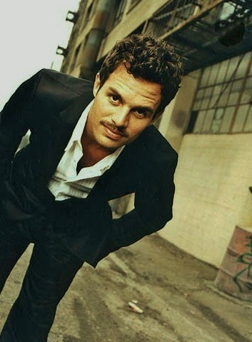 Marc Ruffalo- I'm a big fan.  He's a great actor and I love his environmental activism.