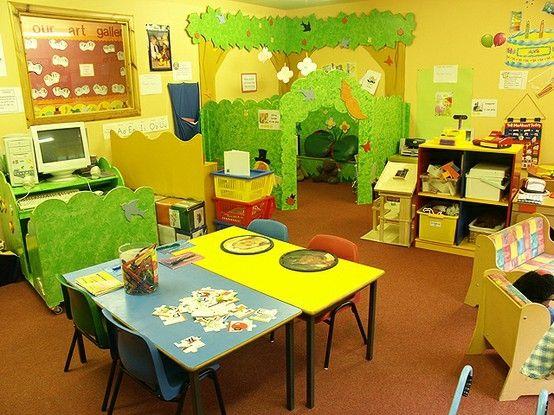 Classroom Design Colors ~ Best ideas about preschool room layout on pinterest