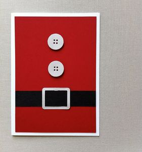This is a card-- but I could do this with my red door for Christmas!! More