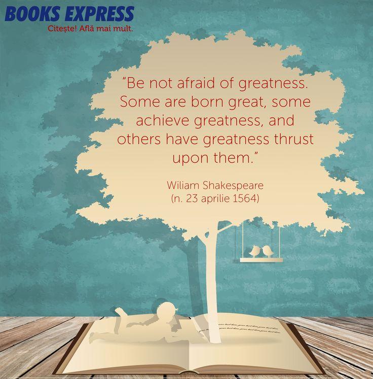 Citat Shakespeare #BEinspired