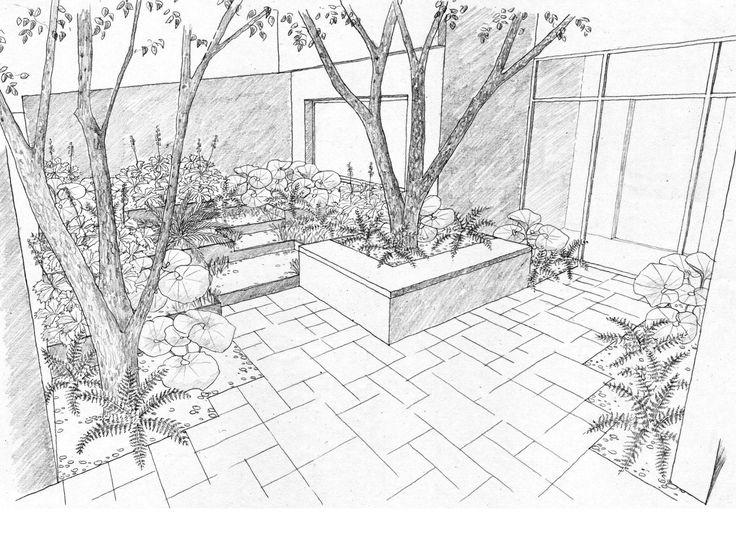 Landscape Architecture Drawing Techniques 83 best landscape drawing images on pinterest   drawings, drawing