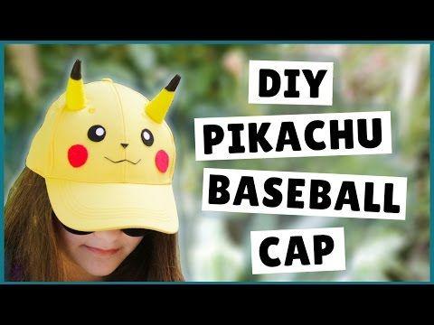 DIY Pikachu Baseball Cap, DIY Pikachu Hat, DIY Pokémon Craft, My Crafts and DIY Projects