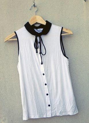 Kup mój przedmiot na #vintedpl http://www.vinted.pl/damska-odziez/koszulki-na-ramiaczkach-koszulki-bez-rekawow/10560873-idealna-koszulka-z-kokardka-new-look