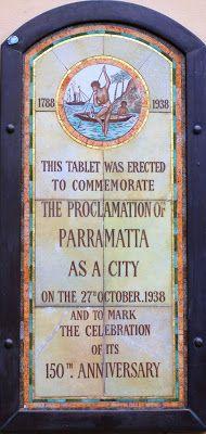 Parramatta Heritage: Parramatta No Longer a Town! History of Parramatta