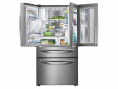 Shop Samsung Food Showcase 27.8-cu ft 4-Door French Door Refrigerator with Ice Maker and Door within Door (Stainless steel) ENERGY STAR at Lowes.com