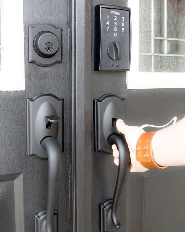 With Schlage Touch No Key Means There S Nothing To Lose And For Would Be Intruders No Cylinder To Pick All In A Slim Profile Tha Schlage Key Meaning Cylinder