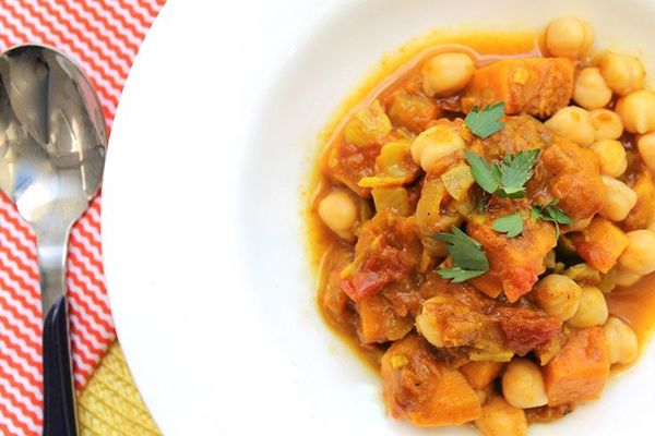 Spicy Potato and Chickpea Stew: Clean Eating, Recipe, Food, Sweet ...