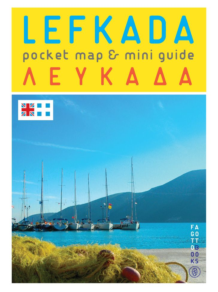 Lefkada: pocket map & mini guide