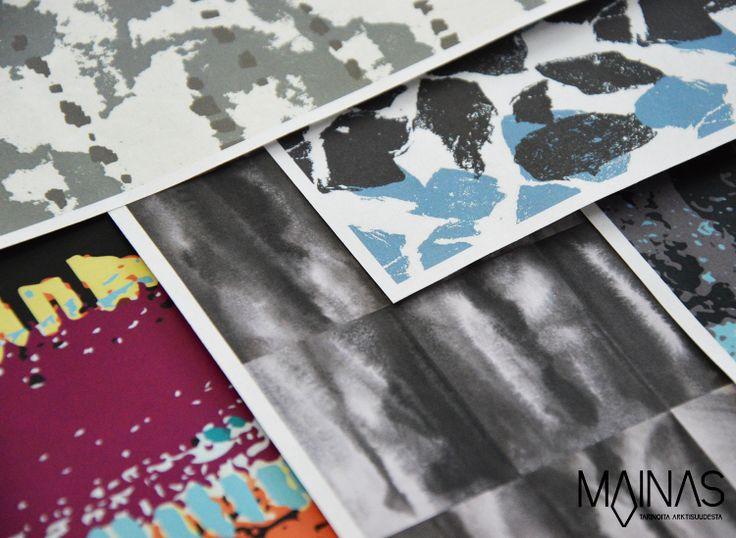 Mainas – MAINAS-messuosastolla YesEcon ekologiset akustiikkalevyt kuiskivat kertomuksia tuntureiden rouheista kivirakoista ja Lapin aarteista. #habitare2014 #design #sisustus #messut #helsinki #messukeskus