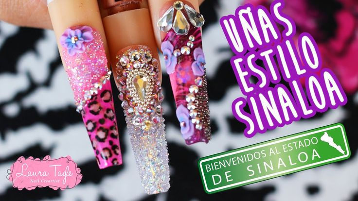 Uñas Sinaloenses Finas - YouTube