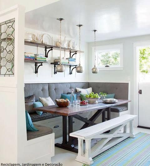 -Bench seating for the Kitchen