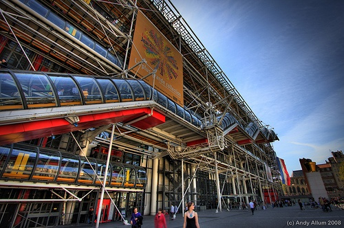 Le Pompidou, Paris