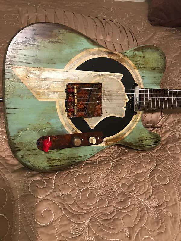This is a very nice custom Tele style guitar,custom USA northern ash
