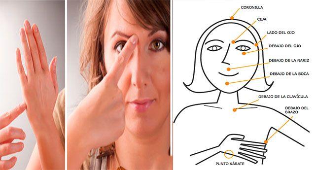 Tus manos pueden resultar sumamente efectivas para aliviar tus malestares sin necesidad de pagarle a un profesional por un masaje, ¿cómo? Aprendiendo dónde están los puntos claves en tu cuerpo para aliviar la tensión, angustia, tristeza, incluso se puede lograr quitar el dolor y/o adelgazar.