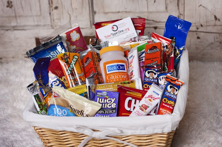 """Tyler Type One Diabetes Foundation • """"Blessing Basket"""" for newly diagnosed person"""