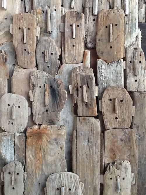 lustik:  Driftwood sculptures by Marc Bourlier. Lustik: twitter...