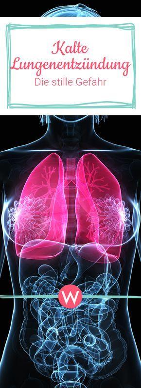 Viele Menschen verwechseln die kalte Lungenentzündung mit einer Erkältung - das kann schwerwiegende Folgen haben. Über die Symptome, Ursachen und Heilungschancen der atypischen Pneumonie. #gesund #gesundheit #krank #krankheit #kinder #lunge #bakterien #viren
