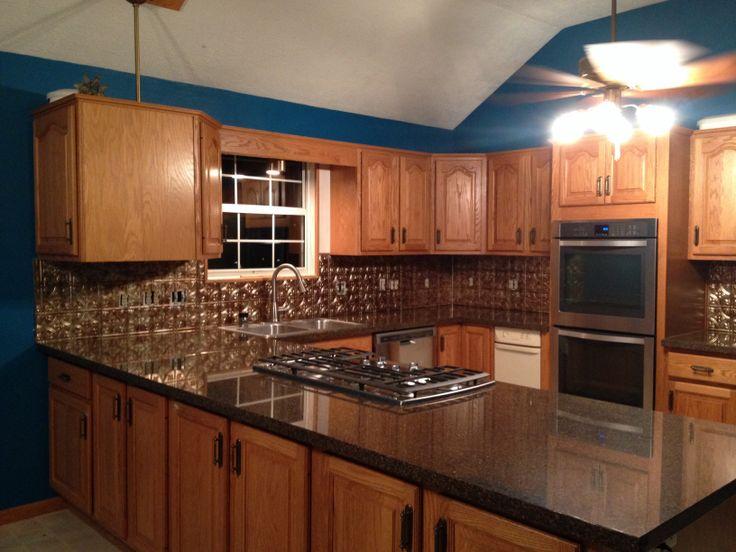 My Kitchen I Installed The Backsplash All Alone Tough