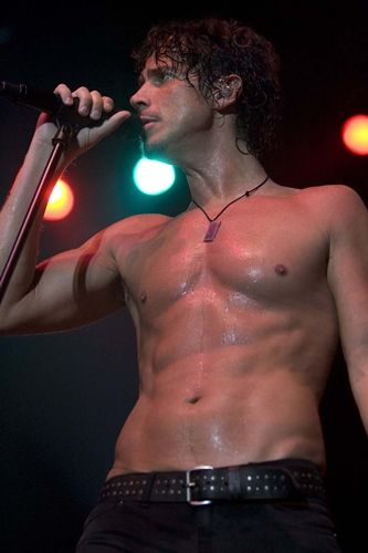 Chris Cornell.  Sexy voice and everything else :)