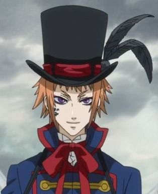 Drocell from Black Butler! I LOVE HIM!!! He is really creepy though O_o