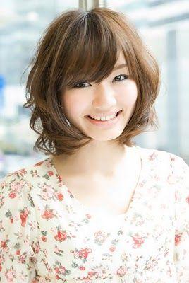 short digital perm: Hair Ideas, Hair Styles, Digital Perm, Hair Cut, Asian Short Hairstyles, Shorts, Short Permed Hairstyles, Haircut, Asian Hairstyles