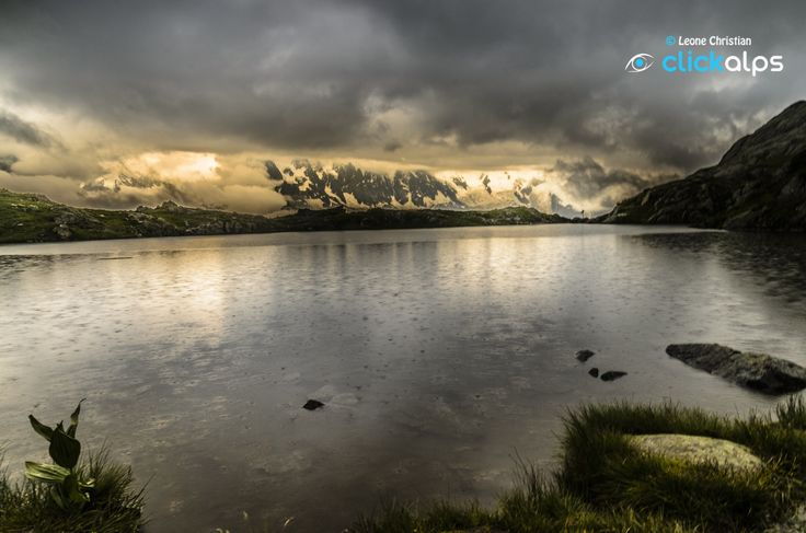 in the rain on the lake Cheserys by Leone Christian on 500px