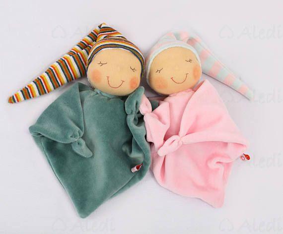 Waldorf first doll soft toys 1st birthday gift newborn