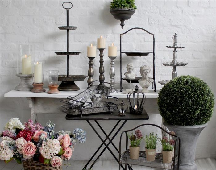 Lanterns, Candle Holders, Metal & More NEW!!!